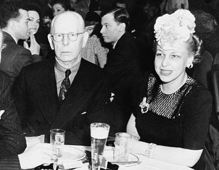 Джесси Ливермор с женой