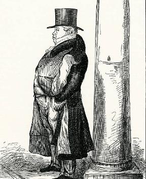 Н.М. Ротшильд у своей колонны на Лондонской фондовой бирже GettyImages