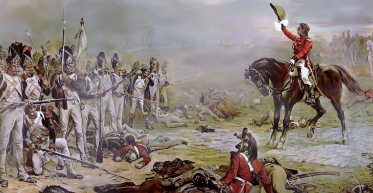 «Последнее каре гвардии», картина Роберта Хиллингфорда, 1836 г.